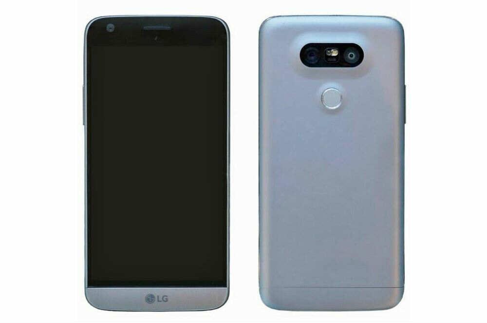 LG G5 - Front-Back Render