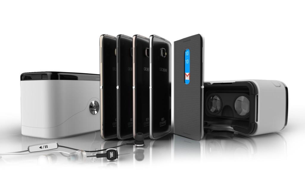 MWC 2016 Alcatel IDOL 4 with Accessories