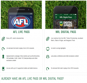 already have afl