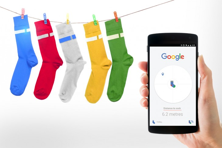 Google Search for your Socks Main