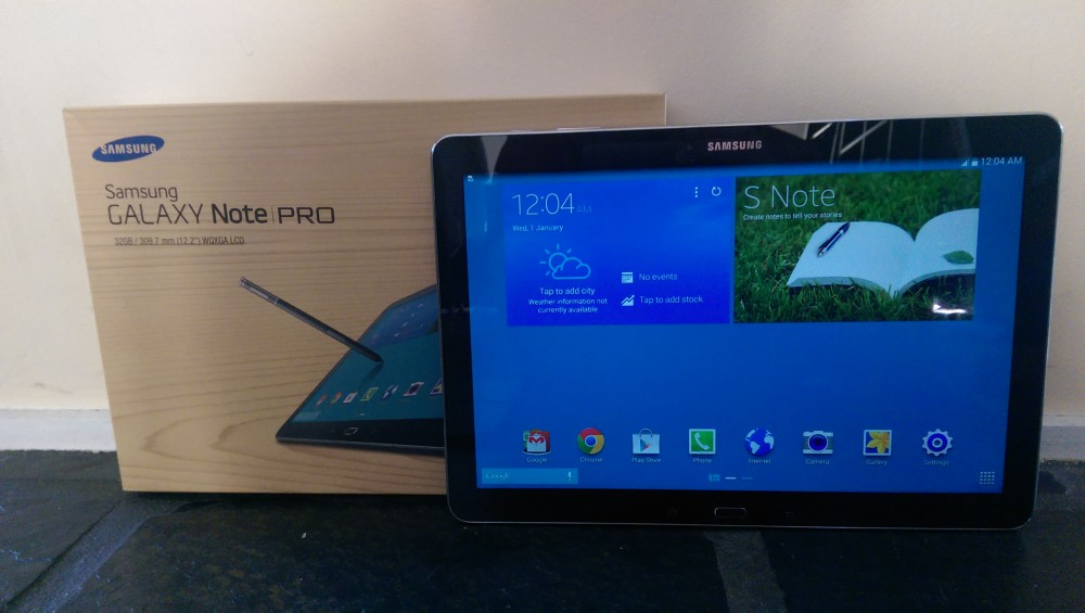 Samsung Galaxy Note Pro 12.2 — Review