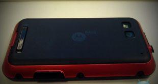 Motorola Defy on Virgin in Red