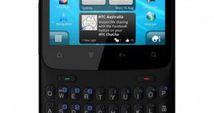 HTC ChaCha available in black from Crazy John's