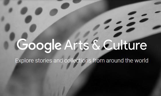 Google Arts & Culture headder