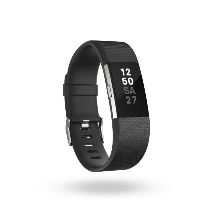 Fitbit Charge 2_Black_Clock_Stack