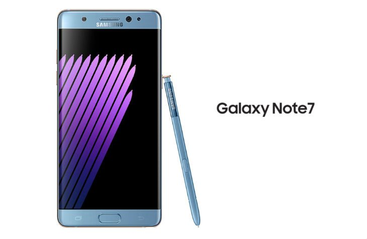 Galaxy Note 7 - Coral Blue