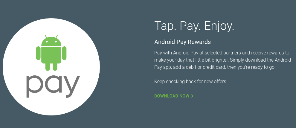 Android Pay Day Rewards