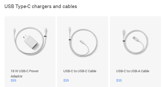 chargers-cables