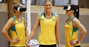 Samsung launch 'Train like a Diamond' 360-degree video of the Australian Netball team