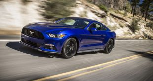 Ford's EcoBoost technology means its Mustang can drive up to 27km on a single litre of fuel