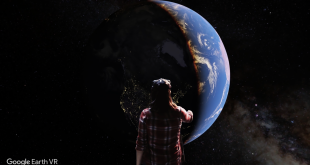 Google puts the Earth into VR