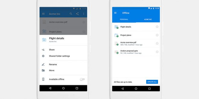 Dropbox Bringing Offline Folders For Dropbox Pro Users