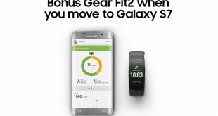 Get a bonus Gear Fit 2 when you purchase a Samsung Galaxy S7 or S7 edge for a limited time