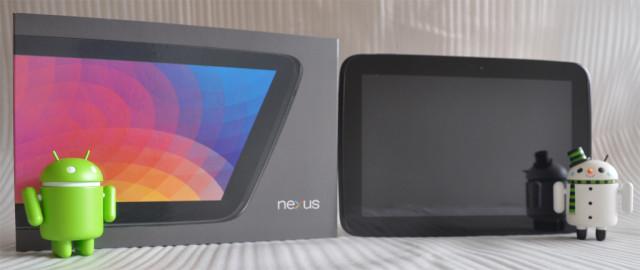 Nexus 10 - Box