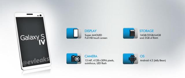Samsung Galaxy S IV Leak 1