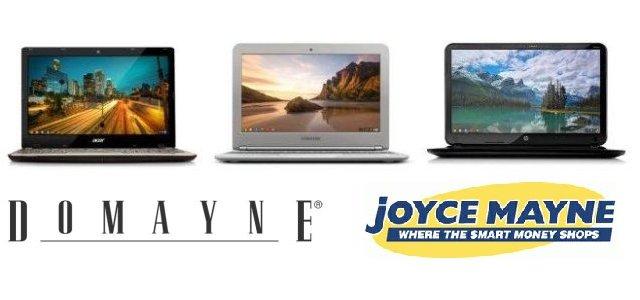 Chromebooks at Domayne and Joyce Mayne