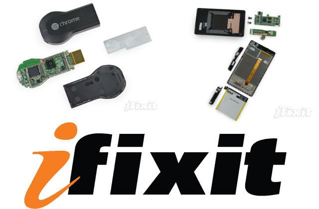ifixit - Chromecast and Nexsu 7 2013