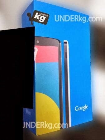 Nexus 5 Retail Packaging