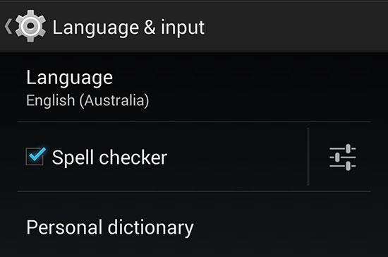 EnglishAustralia