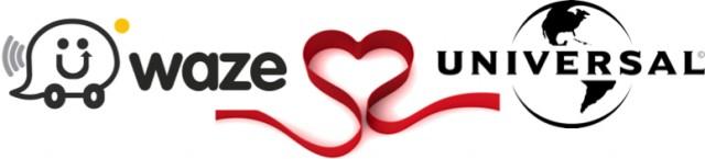 Waze-Universal logo