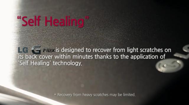 G Flex - Self Healing back