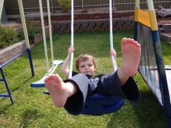 Alex on swings – N1