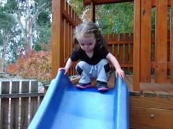 Jenny on slide – N1