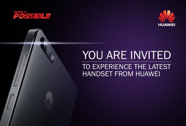 Huawei P7 launch