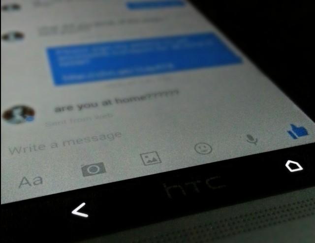 Facebook messenger app update v5.0