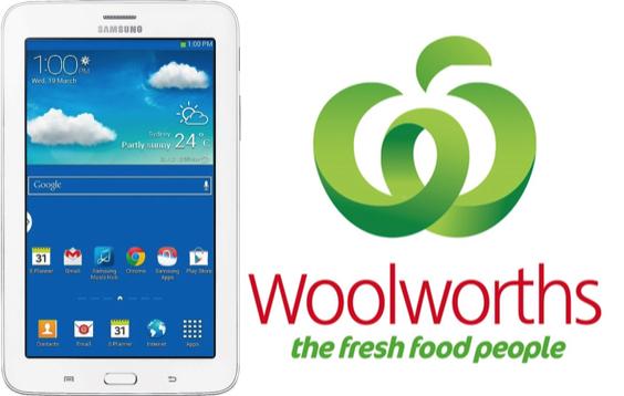 Woolies Samsung Tab 3 Lite