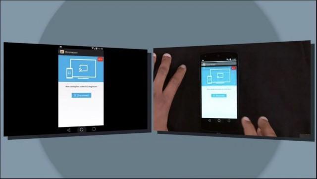 Chromecast Screen Mirroring