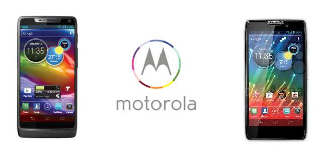 Motorola Razr HD and Razr M