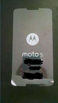 Moto S Screen Protector