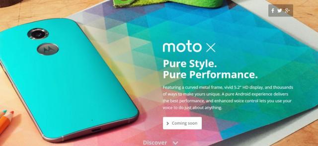 All New Moto X