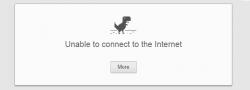 Old Chrome Offline error