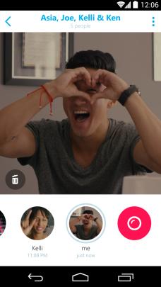 android - skype qik