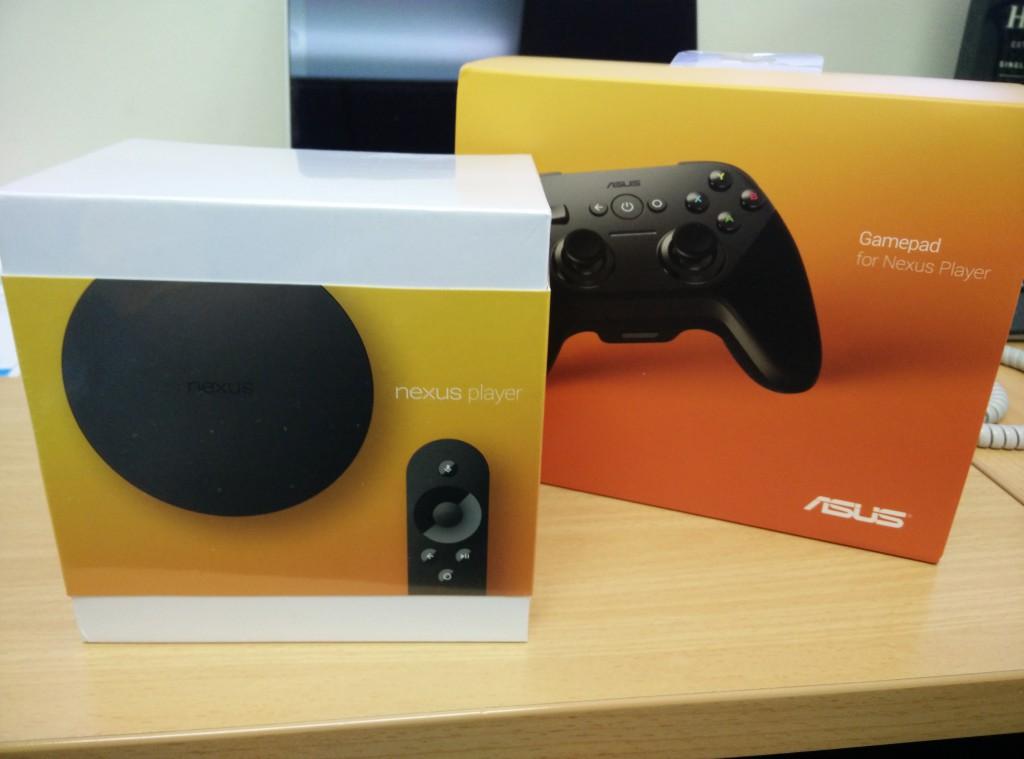 Nexus Player + Controller
