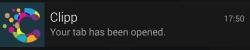 Clipp-NotificationTabOpened
