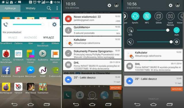 LG Android 5.0 Screenshots