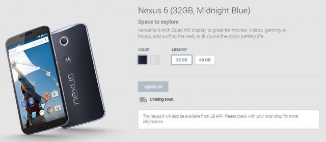 Nexus 6 at JB