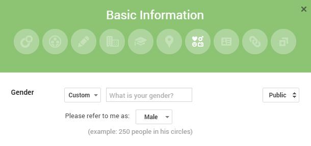 google-plus-gender
