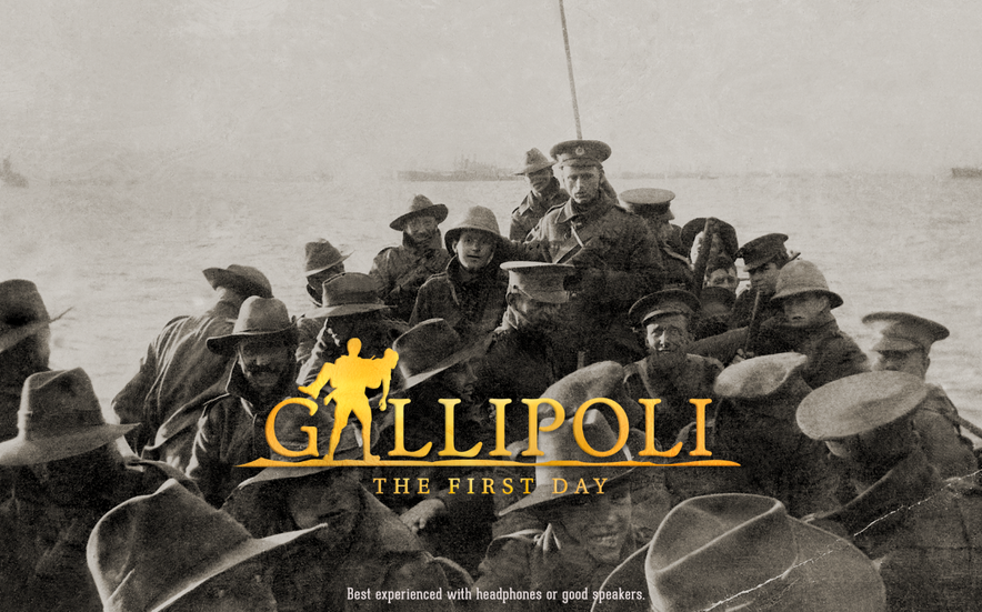 Gallipoli - The First Day