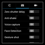 Aspera R6 - Still Shot settings