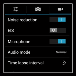 Aspera R6 - Video Settings