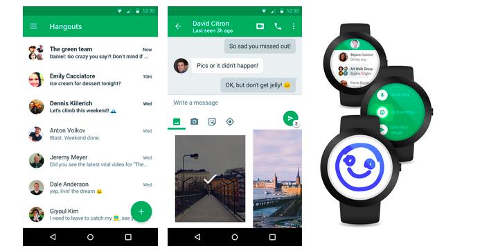Google Hangouts Version 4.0