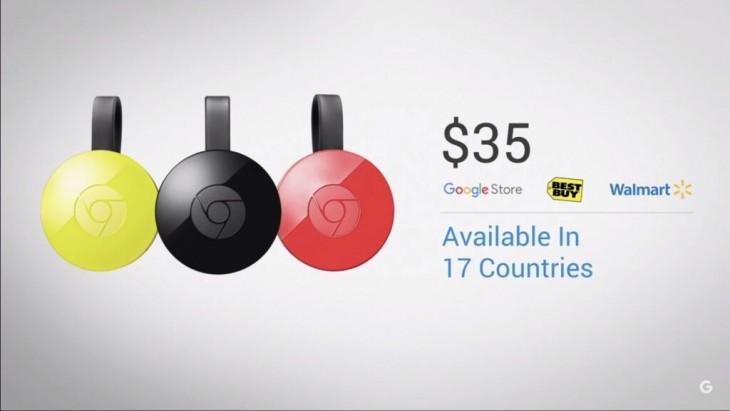 Chromecast availability