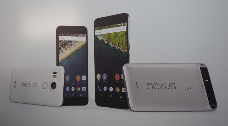 Hands On: LG Nexus 5X and Huawei Nexus 6P