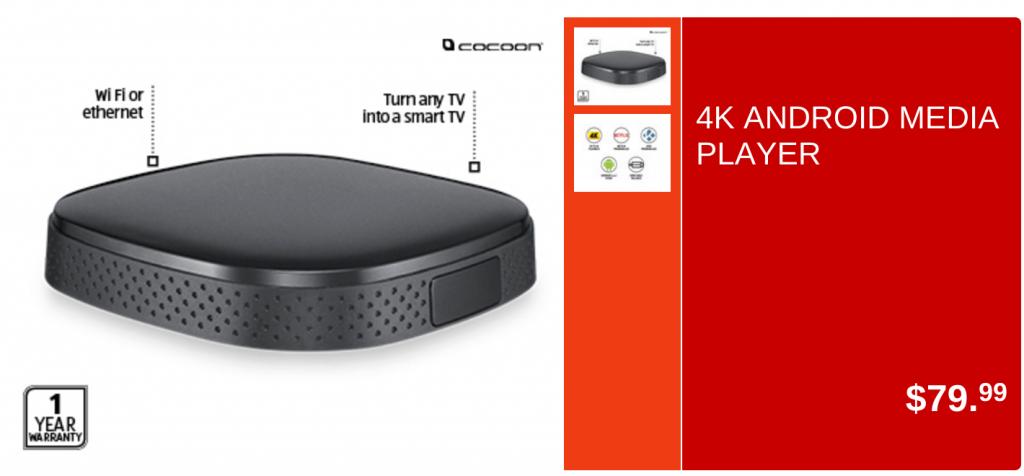 Aldi - 4K Media Player