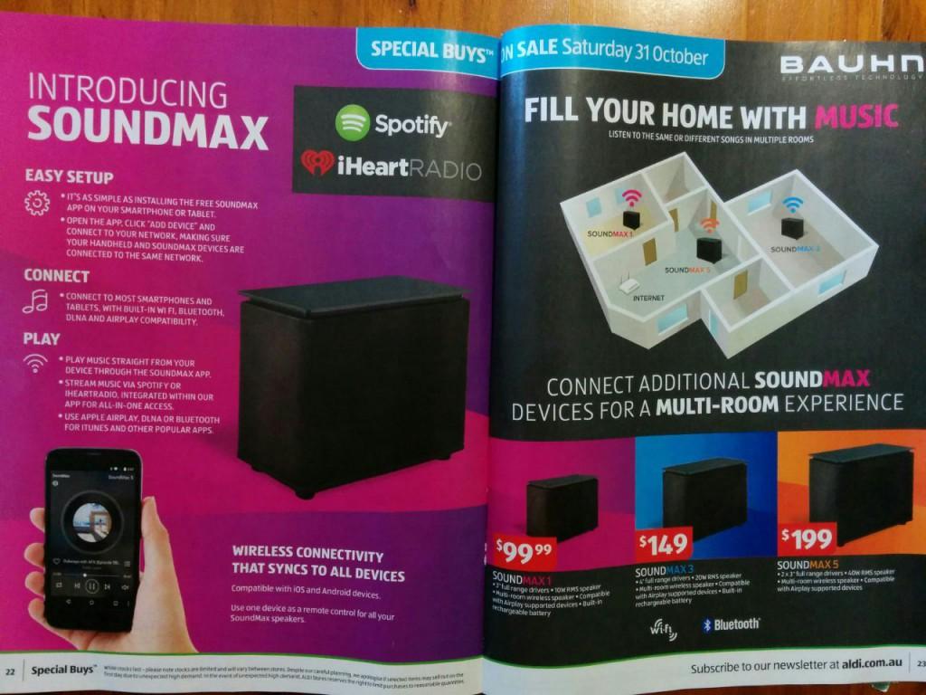 Soundmax range