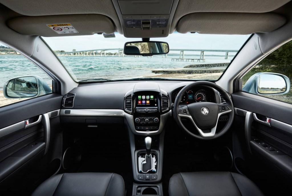 Holden Captiva 2016 - Android Auto
